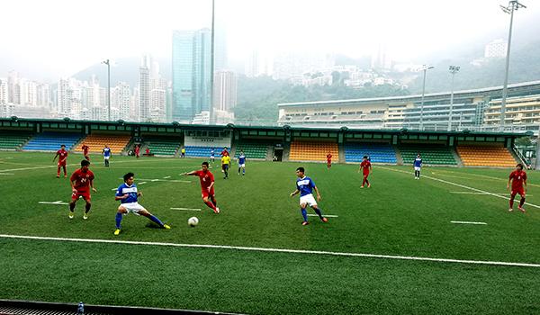 橫濱FC (香港) 友誼賽對香港代表隊勝 1:0img