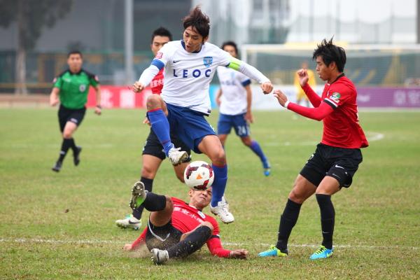 橫濱FC (香港) 作客2:2和南區img