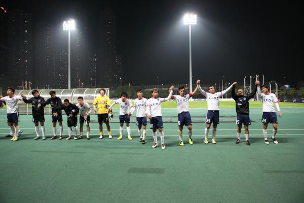 橫濱FC(香港)作客2:2賽和傑志img